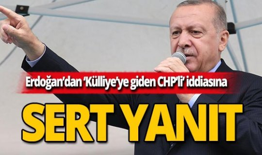 """Cumhurbaşkanı Erdoğan: """"Kılıçdaroğlu'ndan daha ideal başkan olamaz"""""""
