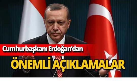 """Cumhurbaşkanı Erdoğan: """"Kötü komşu bizi ev sahibi yaptı"""""""