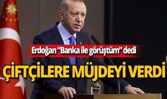 Cumhurbaşkanı Erdoğan müjdeleri sıraladı!