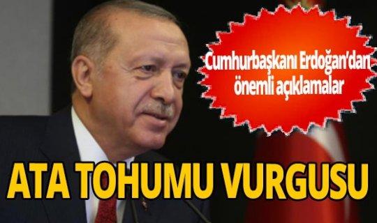 Cumhurbaşkanı Erdoğan: 'Türkiye biyolojik çeşitliliğin korunmasında öncü'