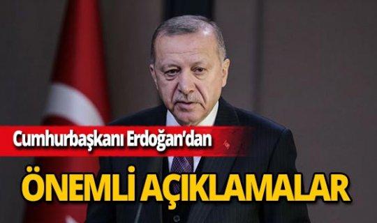 Cumhurbaşkanı Erdoğan: 'Zulüm ile abad olunmaz'