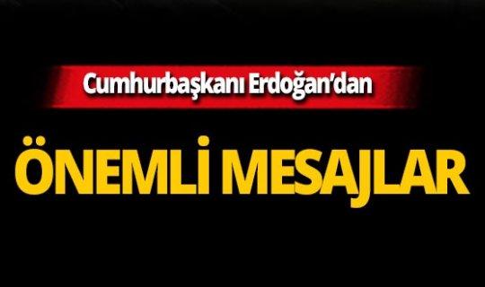 Cumhurbaşkanı Erdoğan'dan Tokat'ta önemli mesajlar!