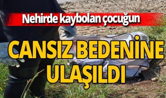 Dicle Nehri'nde kaybolan 2 yaşındaki çocuğun 8 gün sonra cansız bedenine ulaşıldı