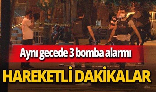 Diyarbakır'da bir gecede 3 bomba alarmı!