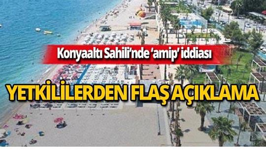 Dünyaca ünlü Konyaaltı Sahili'ndeki tehlike hakkında net açıklama!