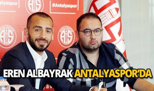 Eren Albayrak Antalyaspor'da!