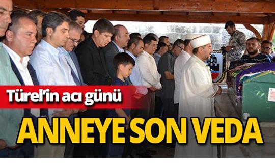 Eski Başkan Menderes Türel'in annesi son yolculuğuna uğurlandı