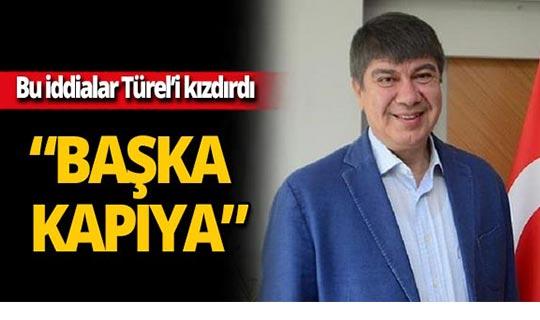 Eski Başkan Türel o iddialara ateş püskürdü!