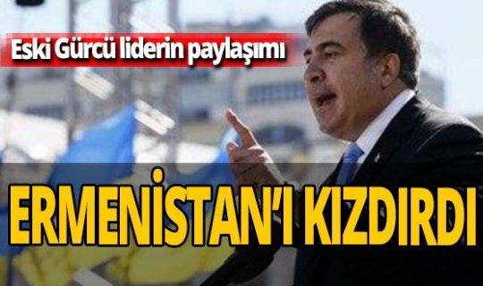 Eski Gürcü lider Mihail Saakaşvili'nin fahri doktora unvanı iptal edildi