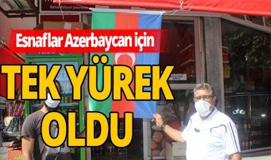 Tüm esnaf Azerbaycan için tek yürek oldu