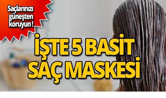 Evde yapabileceğiniz en iyi saç maskeleri