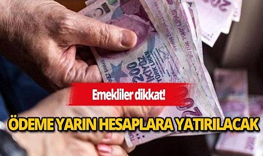 Flaş ekonomi haberi: Emekliye Kurban Bayramı ikramiyeleri yarın yatacak