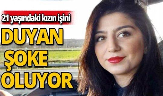 Fransa'da yaşayan 21 yaşındaki Türk kızının mesleği duyanları şoke ediyor!