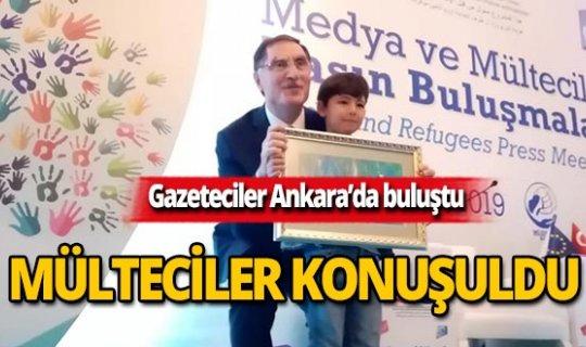 Gazeteciler Medya ve Mülteciler Basın Buluşması'nda bir araya geldi