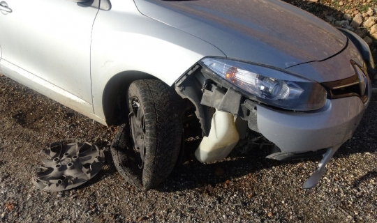 Gercüş'te trafik kazası: 2 yaralı