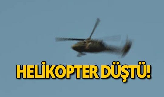 Helikopter düştü! Çok sayıda can kaybı var