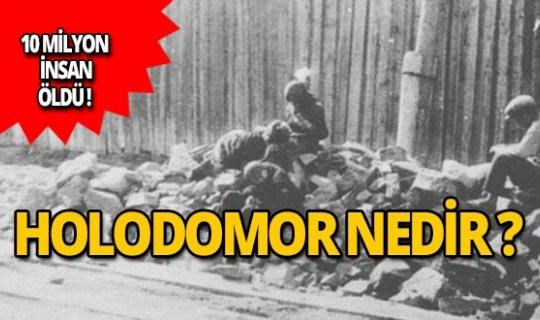 Holodomor nedir? İşte o olayın perde arkası...