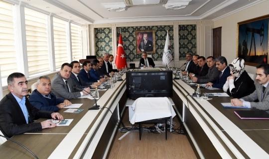 İl istihdam toplantısı Vali Aykut Pekmez başkanlığında yapıldı