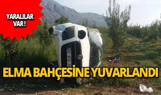 Isparta'da feci kaza: 4 yaralı!