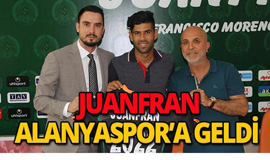 Juanfran, Alanyaspor'a imzasını attı