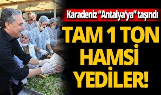 "Karadeniz ""Antalya'ya"" taşındı!"