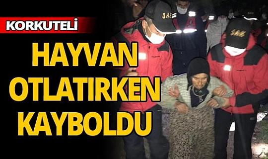 Kaybolan 64 yaşındaki kadını AFAD buldu