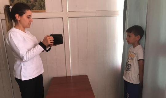 Kepez'den 8 bin 148 öğrenciye göz taraması