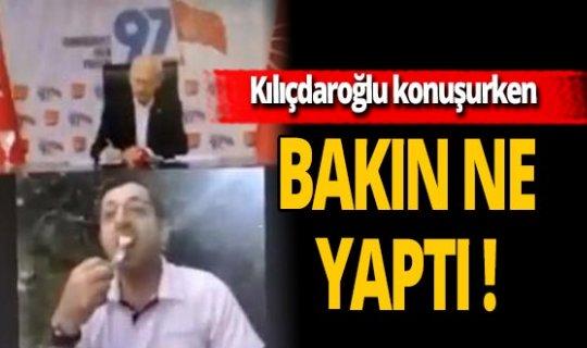 Kılıçdaroğlu'na canlı bağlantı saygısızlığı!