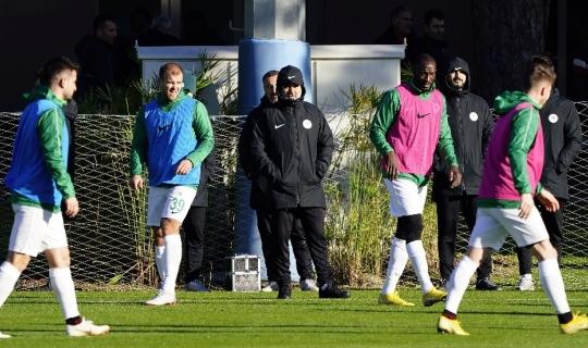 Konyaspor hazırlık maçında Hatayspor'u 3-1 yendi
