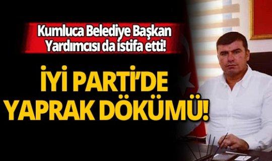Antalya'da İYİ Parti'den bir istifa daha!