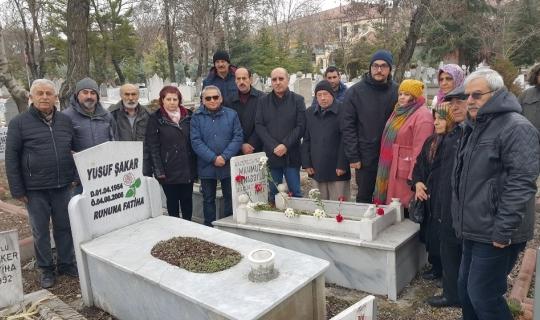 Mahmut Tunaboylu mezarı başında anıldı