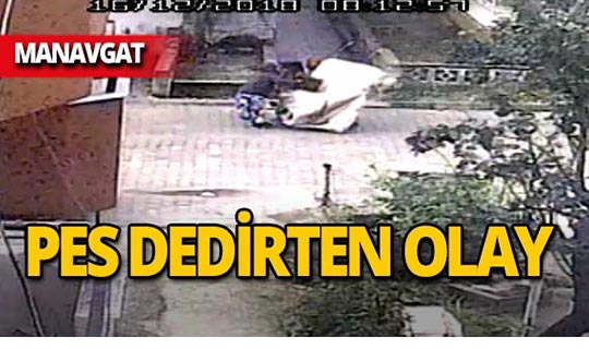 Manavgat'ta kağıt toplayıcısı kadınların yaptığı şoke etti!