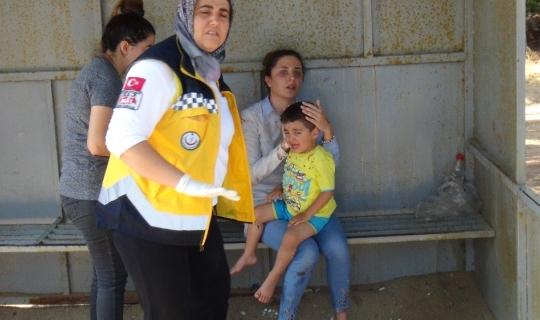Manavgat'ta trafik kazası: 1'i çocuk, 7 yaralı
