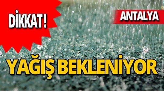Meteoroloji'den uyarı : Yağışlı geçecek!