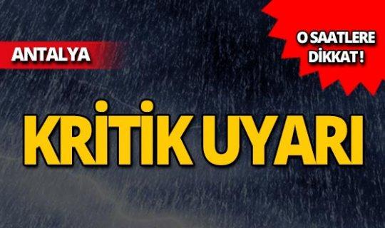 Meteoroloji saat verdi: Sıcaklık artıyor, yağmur geliyor!