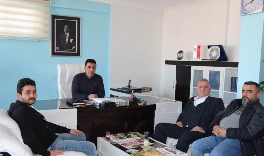 MHP Göreme Belediye Başkan adayı Ömer Eren Kapadokya Gazeteciler Cemiyetini ziyaret etti