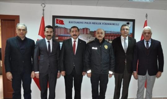 MHP teşkilatından, Polis Meslek Yüksekokuluna ziyaret