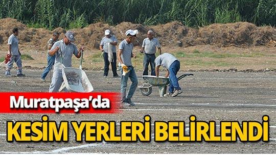 Muratpaşa'da kurban satış ve kesim noktaları belli oldu