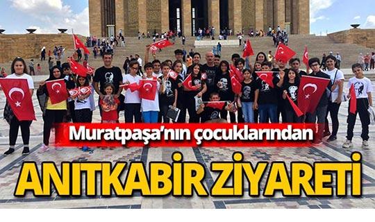 Muratpaşalı öğrencilerden Anıtkabir'e ziyaret