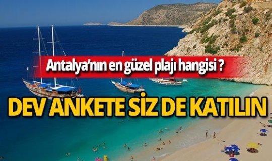 MYGazete sordu: Antalya'nın en güzel plajı hangisi?
