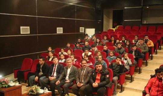 Öğrencilerden Kaymakam Arıcan'a teşekkür ziyareti