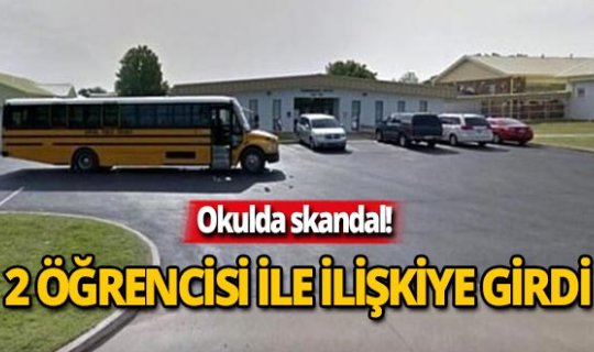 Öğretmen 2 öğrencisiyle arabada ilişkiye girdi!