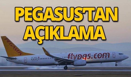 Pegasus'tan kaza açıklaması