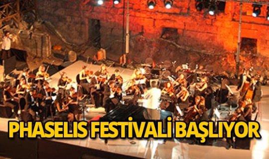 Phaselis Festivali başlıyor