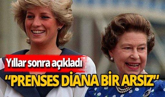 Prenses Diana hakkında şok itiraf!