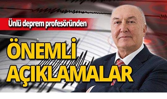 Profesörden denizli depremiyle ilgili önemli açıklama!