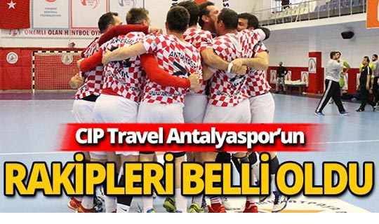 Rakipleri belirlenen CIP Travel Antalyaspor'un Avrupa hazırlığı