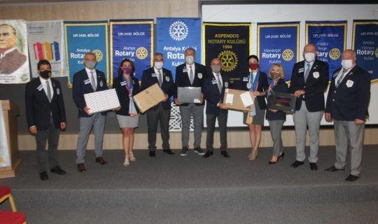Rotary Kulüpleri şehit ve gazi çocuklarını unutmadı