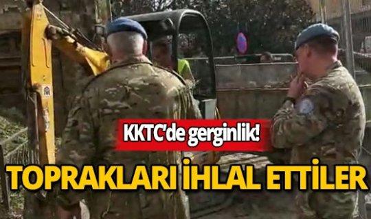Rumlar Türk topraklarını ihlal etti