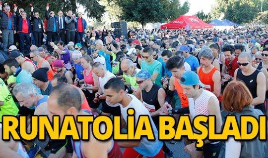 Runatolia Antalya Maratonu başladı!
